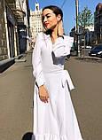 Женское идеальное красивое платье на запах, фото 6