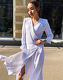Женское идеальное красивое платье на запах, фото 8