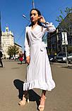 Женское идеальное красивое платье на запах, фото 10