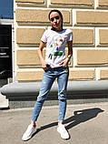 Женская стильная  футболка с рисунком, фото 2