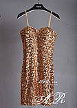 Модное красивое женское облегающее платье, фото 3