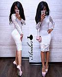 Нарядное гипюровое платье, фото 10