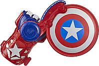 "Бластер-перчатка Капитан Америка ""Мстители: Завершение"" E7375 Nerf от Hasbro, фото 1"