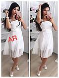 Модное красивое женское эффектное платье, фото 4
