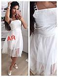 Модное красивое женское эффектное платье, фото 5
