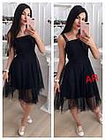 Модное красивое женское эффектное платье, фото 6