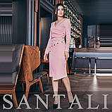 Женское стильное трендовое платье 3886, фото 2