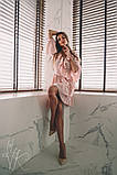 Женское стильное платье Н-492 в горох, фото 3
