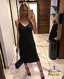 Модное женское платье из шелка, фото 2