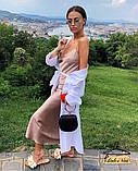 Модное женское платье из шелка, фото 5