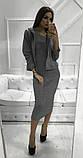 Женское стильное трендовое платье с ветровкой, фото 2