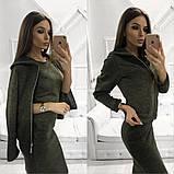 Женское стильное трендовое платье с ветровкой, фото 4