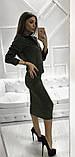 Женское стильное трендовое платье с ветровкой, фото 5