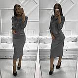 Женское стильное трендовое платье с ветровкой, фото 10