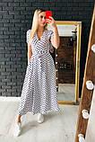 Очень красивое платье в горошек, фото 2