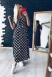 Очень красивое платье в горошек, фото 3