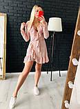 Хит продаж - платье в горошек на запах!, фото 3