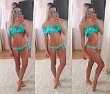 Яркий женский купальник из микродайвинга, фото 7