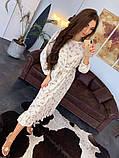 Стильное повседневное женское платье миди, фото 5