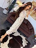 Стильное повседневное женское платье миди, фото 7