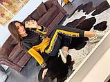 Женский   повседневный  костюм из джерси с принтом, фото 6