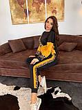Женский   повседневный  костюм из джерси с принтом, фото 7