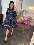 Стильное женское платье   из софта, фото 5