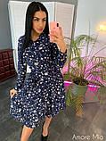 Стильное женское платье   из софта, фото 6