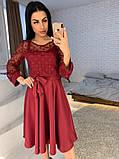 Стильное повседневное женское платье из креп дайвинга, фото 5