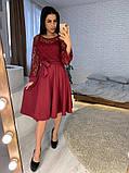 Стильное повседневное женское платье из креп дайвинга, фото 6
