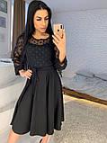 Стильное повседневное женское платье из креп дайвинга, фото 7