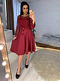 Стильное повседневное женское платье из креп дайвинга, фото 8
