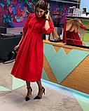 Стильное повседневное женское платье, фото 5