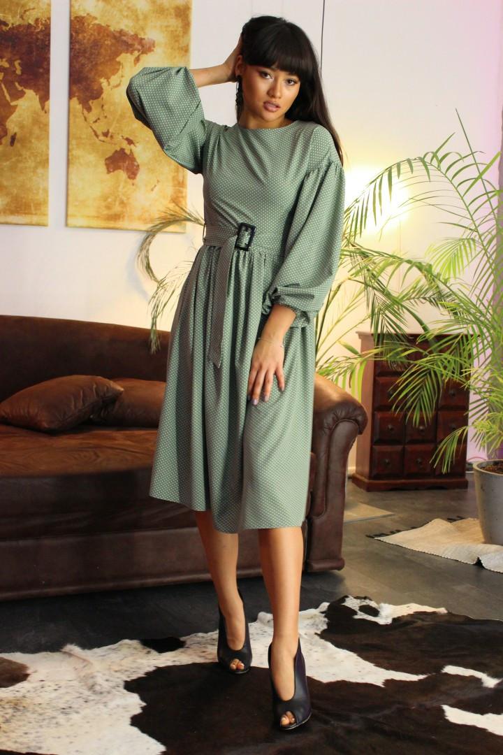 Женское стильное яркое платье  Дайкири