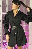 Женское стильное яркое платье  рубашка Мадейра, фото 2