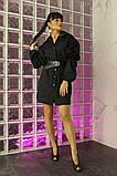 Женское стильное яркое платье  рубашка Мадейра, фото 4