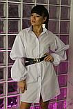 Женское стильное яркое платье  рубашка Мадейра, фото 5
