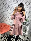 Женское стильное яркое платье  Барби, фото 2