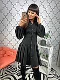 Женское стильное яркое платье  Барби, фото 3