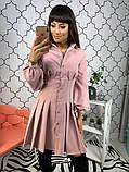Женское стильное яркое платье  Барби, фото 4