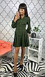 Женское стильное яркое платье  Барби, фото 6