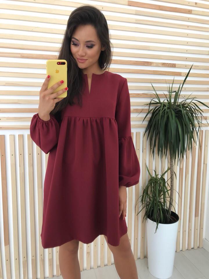 Женское стильное яркое платье Алсу