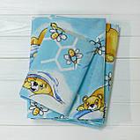 Комплект постельного белья детский ранфорс 7823 голубой ТМ Вилюта, фото 3