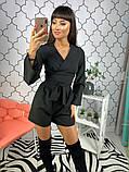 Женский стильный комбез шортами Даяна, фото 6