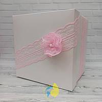 Коробка квадрат 15 х 15 х 13 см