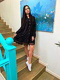 Платье свободного кроя с французским кружевом, фото 2