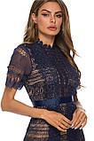 Женское нежное кружевное стильное платье, фото 2