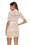 Женское нежное кружевное стильное платье, фото 4