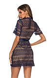 Женское нежное кружевное стильное платье, фото 7