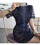 Женское нежное кружевное стильное платье, фото 8